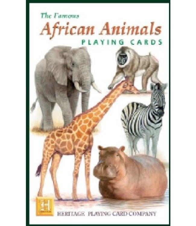 Heritage Playing Cards African Animals Speelkaarten