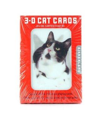 3D Speelkaarten - Cat