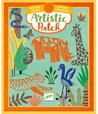 Djeco Djeco | Artistic Patch | Velvet | Wilderness | 6+