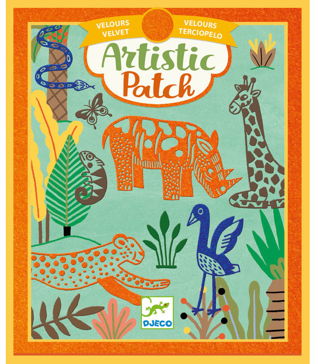Djeco | Artistic Patch | Velvet | Wilderness | 6+
