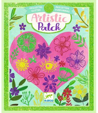 Djeco Djeco | Artistic Patch | Glitter | Bloemblaadjes | 6+