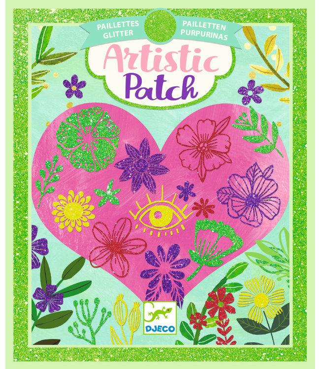 Djeco | Artistic Patch | Glitter | Bloemblaadjes | 6+