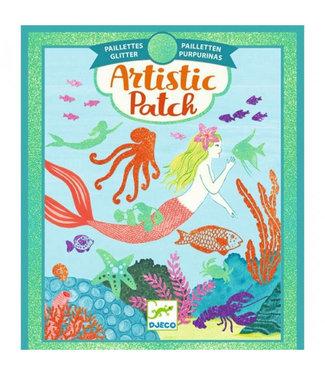 Djeco Djeco | Artistic Patch | Glitter | Ocean | 6+