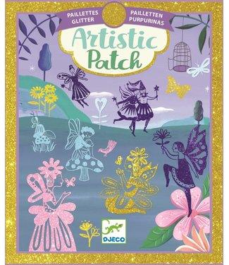 Djeco Djeco | Artistic Patch | Glitter | Fairyland | 6+
