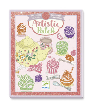 Djeco Djeco | Artistic Patch | Glitter | Sweets | 6+