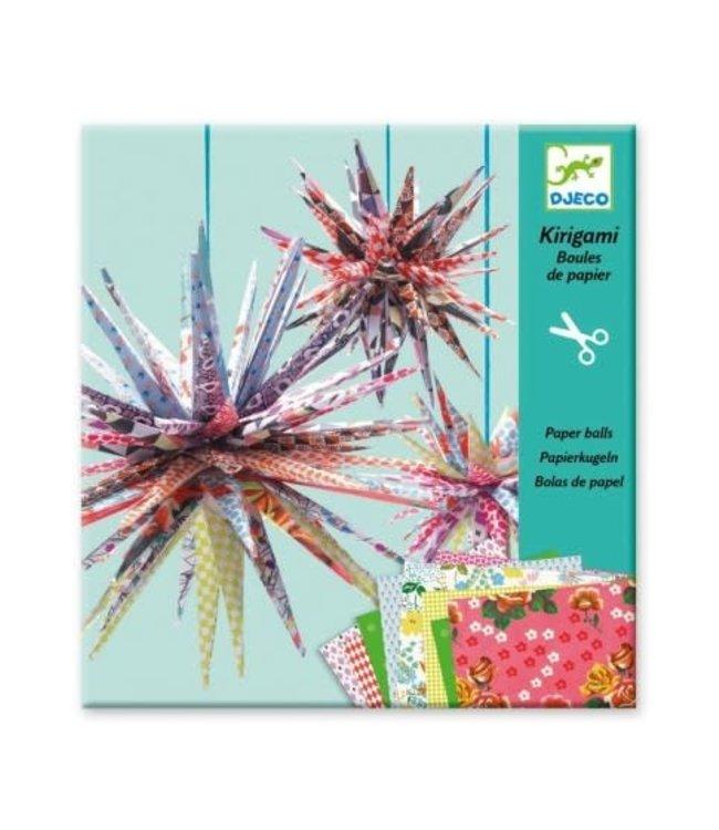 Djeco  | Paper Balls | Kirigami  | 8-14 jaar