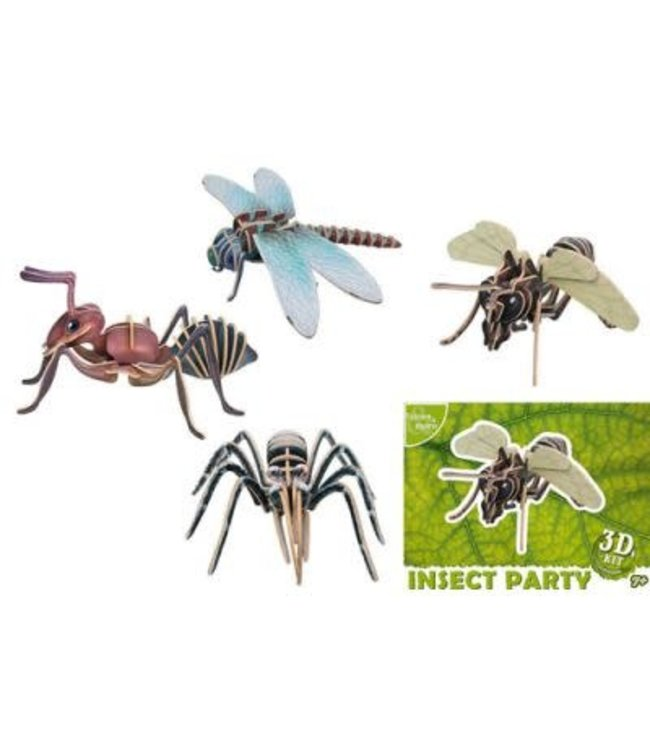 Bones & More Wooden 3D-Kit Insect Party  5+