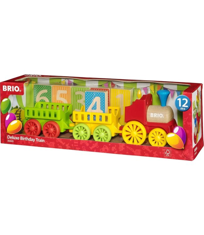 Brio Deluxe Birthday Train  1+