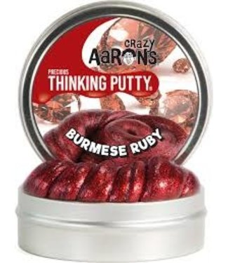 Crazy Aarons Crazy Aarons Precious Thinking Putty Burmese Ruby 3+