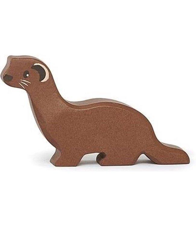 Tender Leaf Toys Woodland Animal Houten Bosdier Wezel 3+