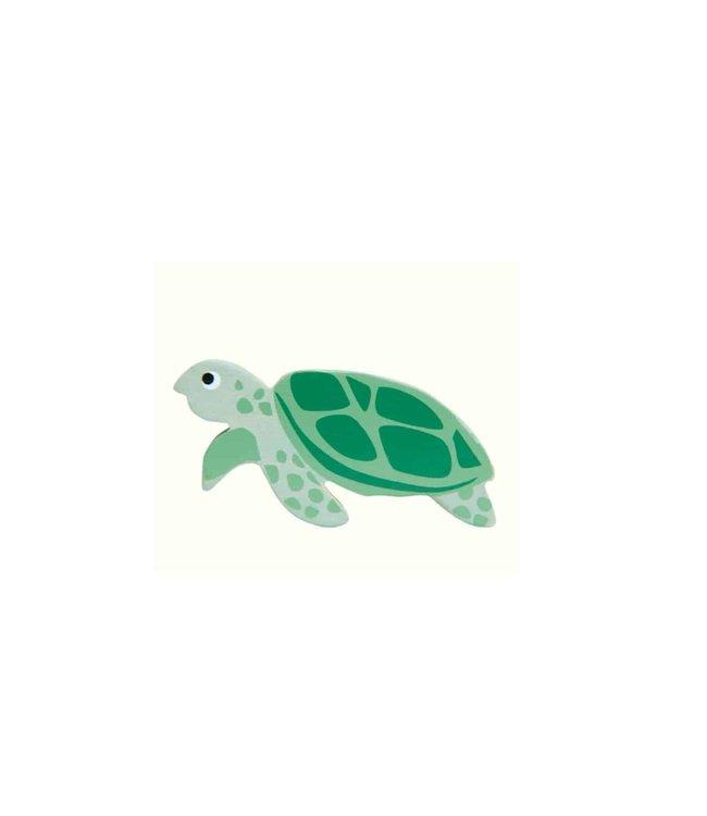 Tender Leaf Toys Wooden Coastal Creature Sea Turtle 3+