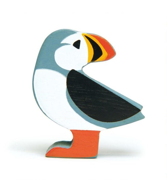Tender Leaf Toys Wooden Coastal Creature Puffin 3+