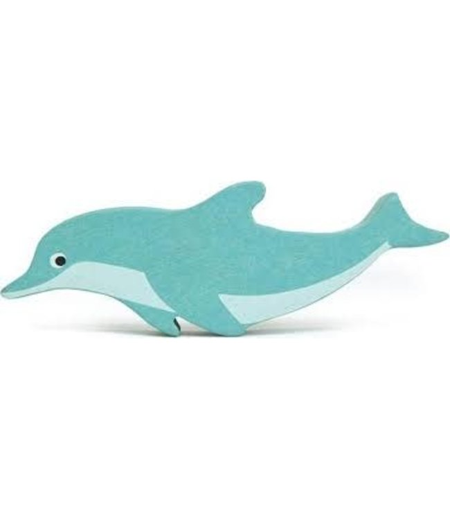 Tender Leaf Toys Wooden Coastal Creature Dolphin 3+