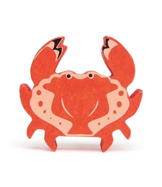 Tender Leaf Toys Wooden Coastal Creature Crab 3+