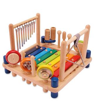 I'm Toys I'm Toys Melody Mix Houten Muziekcenter met 10 instrumenten  3+