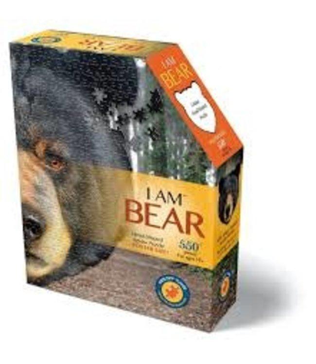 I Am Head Shaped Jigsaw Puzzle Bear 550 pcs  10+
