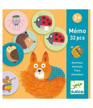Djeco Djeco Memory Game Animals 3+