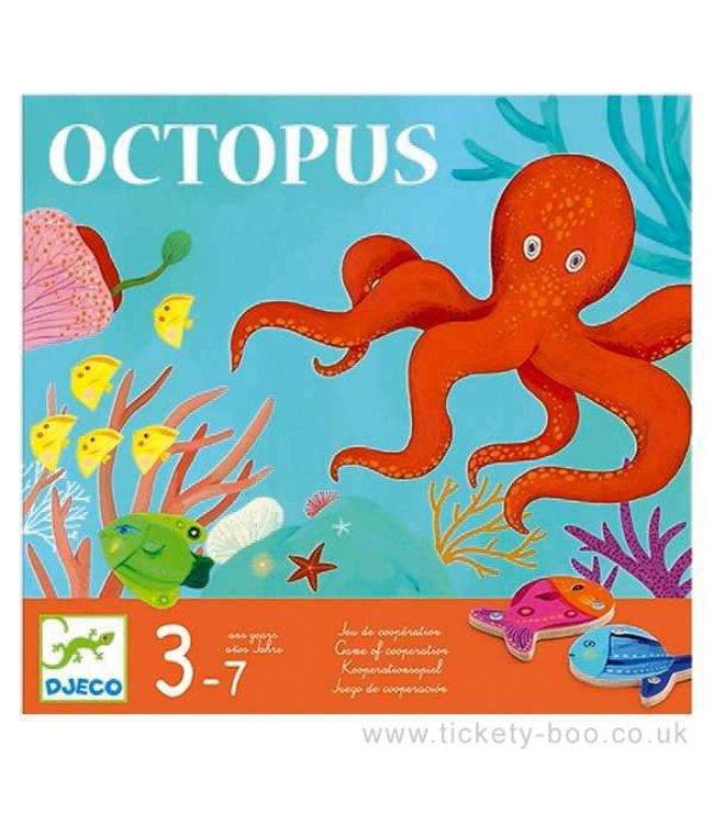 Djeco Hengelspel Visspel Octopus 3-7 jaar
