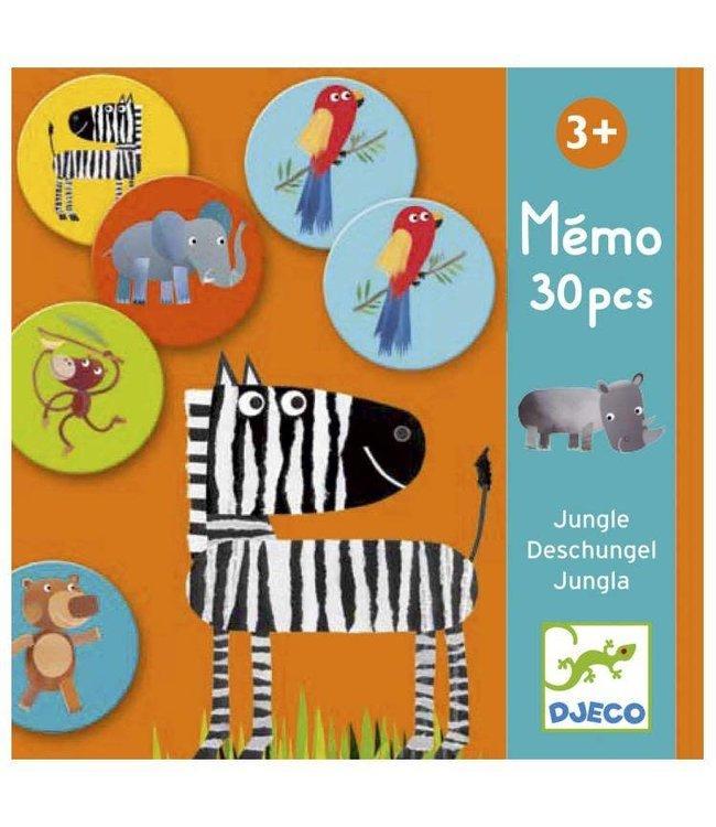 Djeco  Memo Jungle 30 st 3+