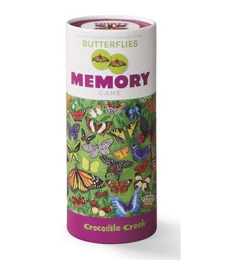 Crocodile Creek Crocodile Creek | Animal Memory Game | Butterflies | 72 delig | 3+