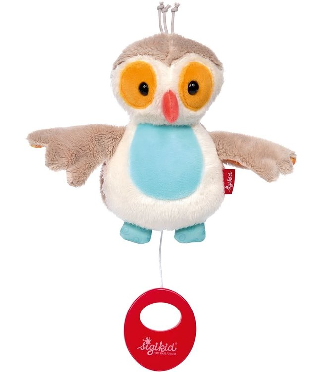 Sigikid Musical Owl 14 cm 0+