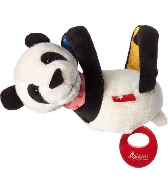 Sigikid | Hangende Muziekknuffel | Panda | 22 cm | 0+