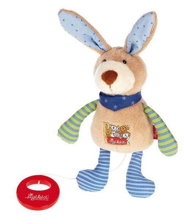 Sigikid Knuffel met Muziek Musical Bunny 22 cm  0+