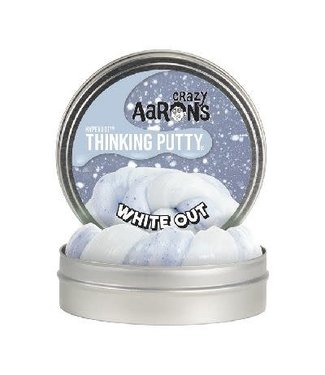 Crazy Aarons Crazy Aarons Hyperdot Thinking Putty White Out 3+