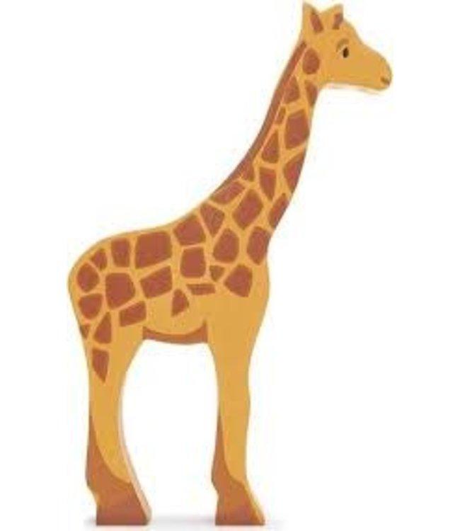 Tender Leaf Toys Houten Safaridier Giraffe 3+