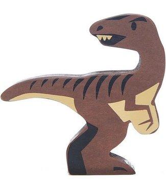 Tender Leaf Toys Tender Leaf Toys Houten Dinosaurus Velociraptor 3+