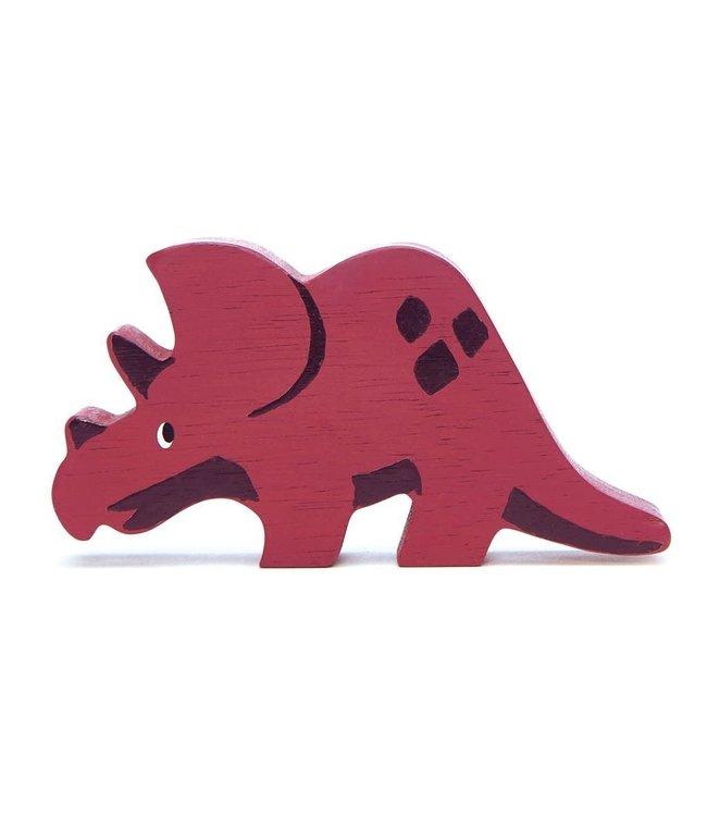 Tender Leaf Toys Houten Dinosaurus Triceratops 3+