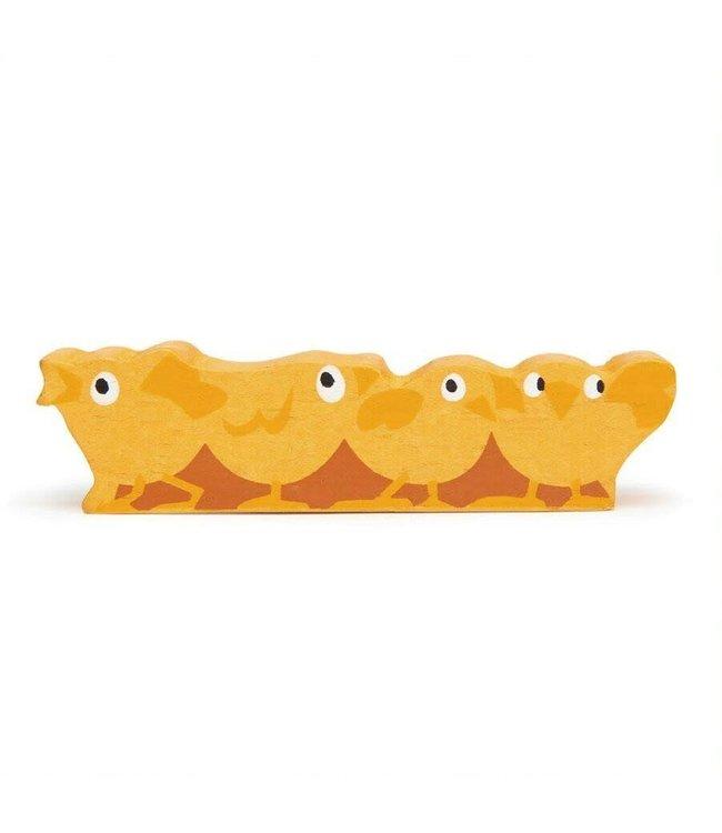 Tender Leaf Toys Houten Boerderijdier Kuikens 3+