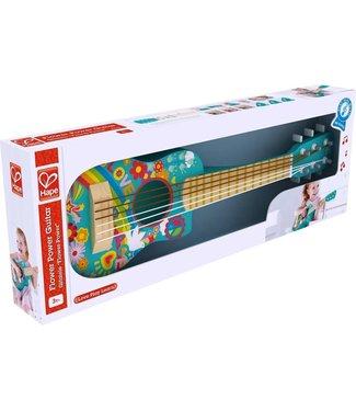 Hape Hape Happy Flower Power Guitar 65 cm 3+