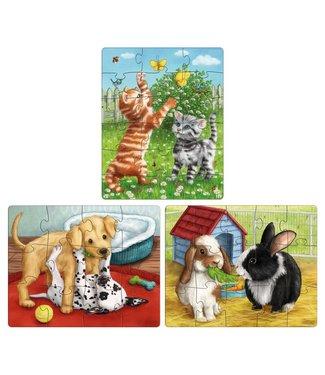 Haba Haba Puzzels Huisdieren 3+