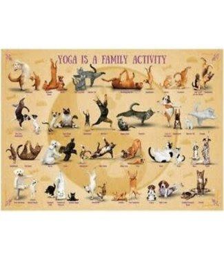 Eurographics Eurographics Yoga is a Family Activity 500 XL stukjes