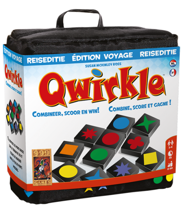 999 Games | Qwirkle | Reiseditie | 8+