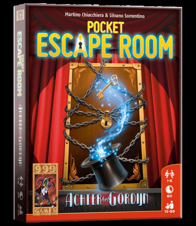 999 Games | Escape Room | Pocket | Achter het Gordijn | 12+