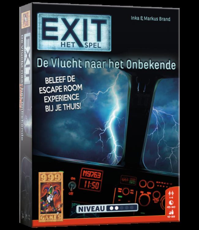 999 Games | Exit Game | De vlucht naar het Onbekende  | 10+