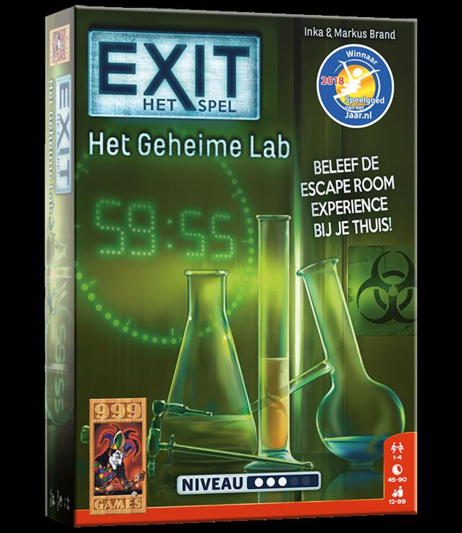 999 Games | Exit Game | Het Geheime Lab | 12+