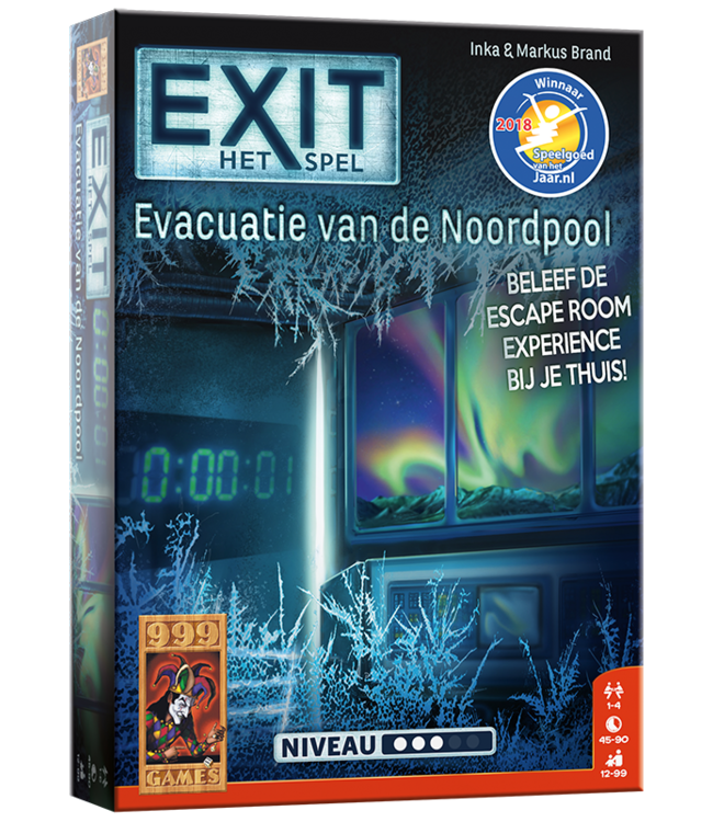 999 Games   Exit Game   Evacuatie van de Noordpool   12+