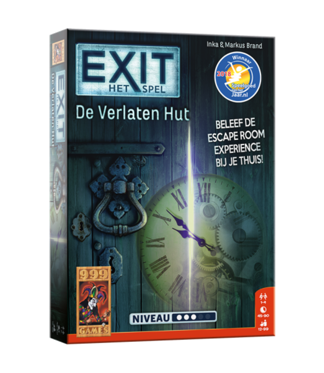 999 Games Escape Room De Verlaten Hut 12+