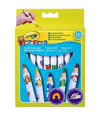 Crayola Crayola Mini Kids 8 Dikke Kleurpotolden 1+