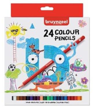 Bruynzeel Bruynzeel basic colour set 24 kleurpotloden