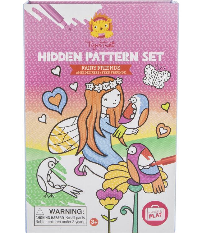 Tiger Tribe Hidden Pattern Set Fairy Friends 3+