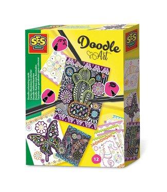 Ses Ses Doodle Kaarten 5+