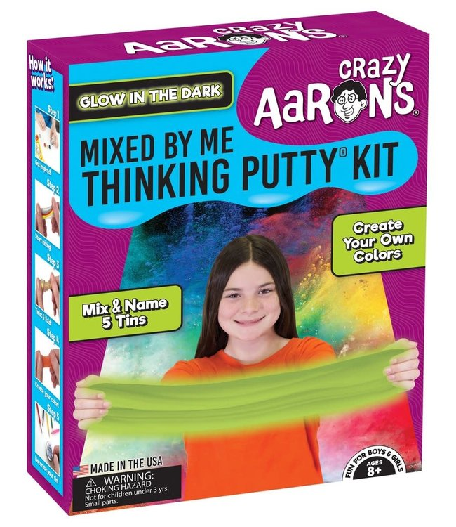 Crazy Aarons | Thinking Putty | Mixed Kit | Glow | 8+