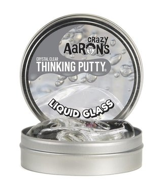 Crazy Aarons Crazy Aarons Crystal Clear Thinking Putty  Liquid Glass 3+