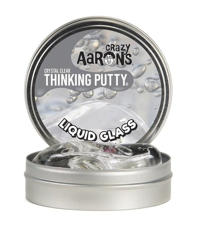 Crazy Aarons | Thinking Putty | Liquid Glass | Crystal Clear | 3+