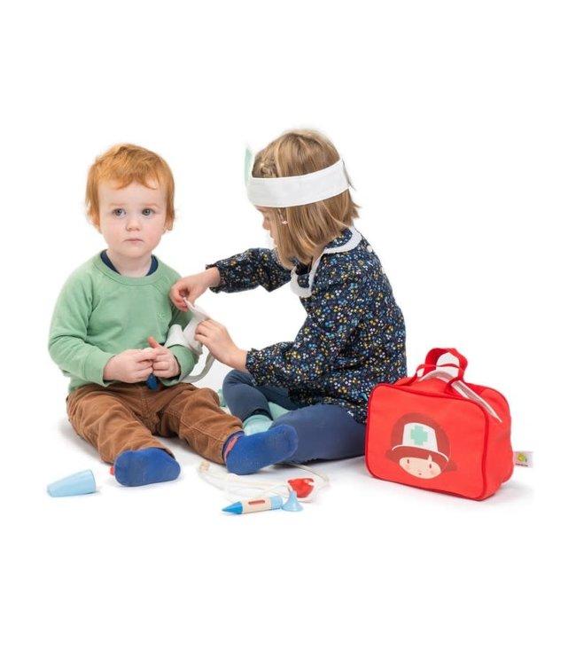 Tender Leaf Toys | Doctors and Nurses Set | Dokterstas | 3+