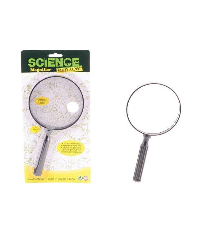 Science Explorer Vergrootglas met Dubbele Lens 5+
